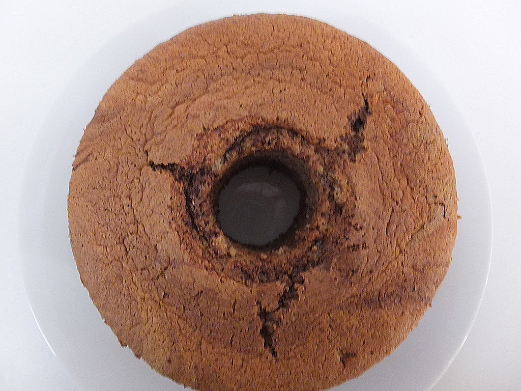シフォンケーキ ココアマーブル