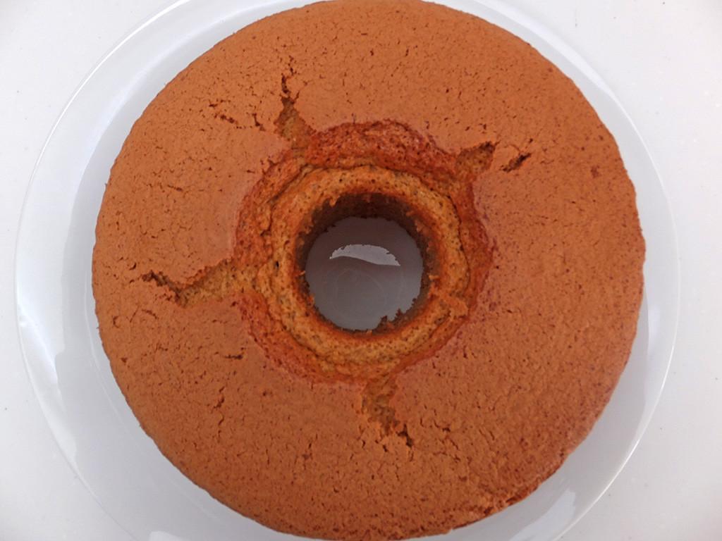シフォンケーキ 黒糖